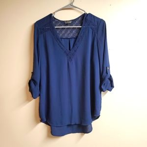 Papermoon for Stitch Fix 3/4 Sleeve Blouse